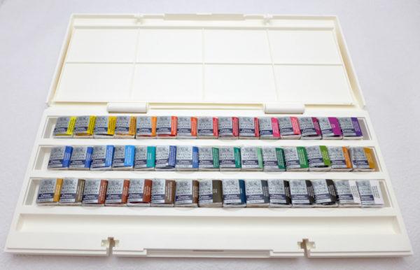 Akvarelové farby, Winsor&Newton, Sada akvarelových farieb