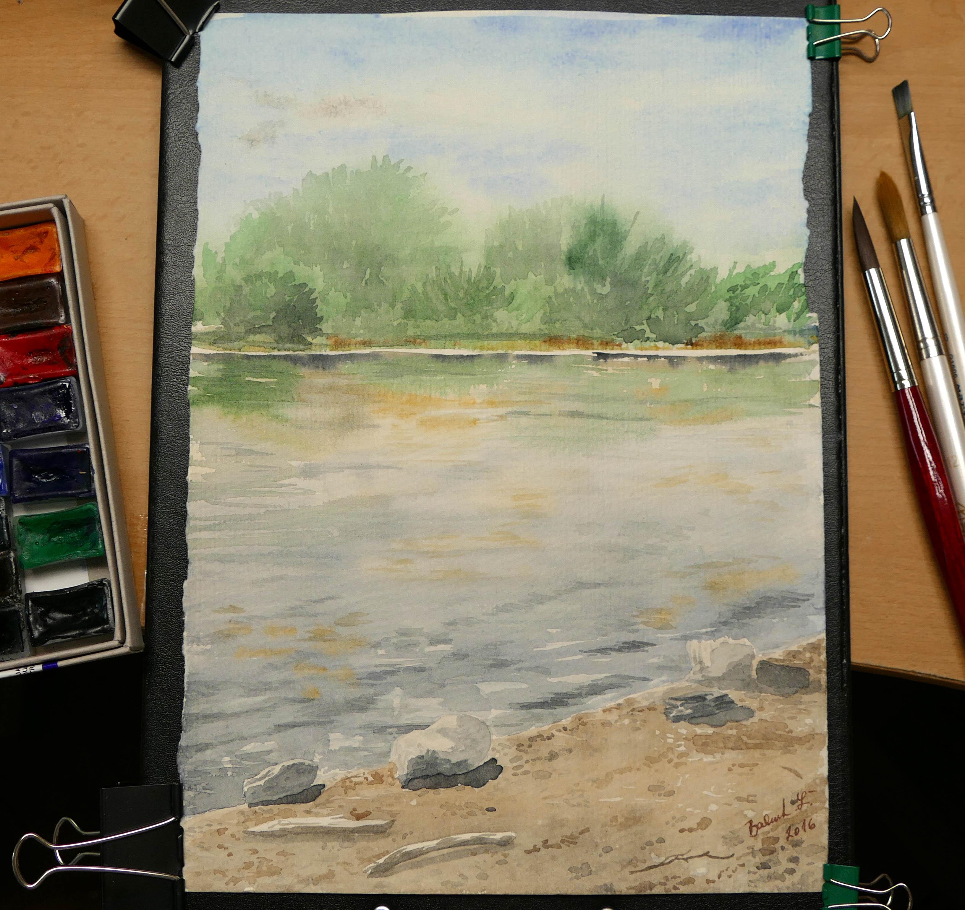 Maľovanie v prírode a domáca úloha