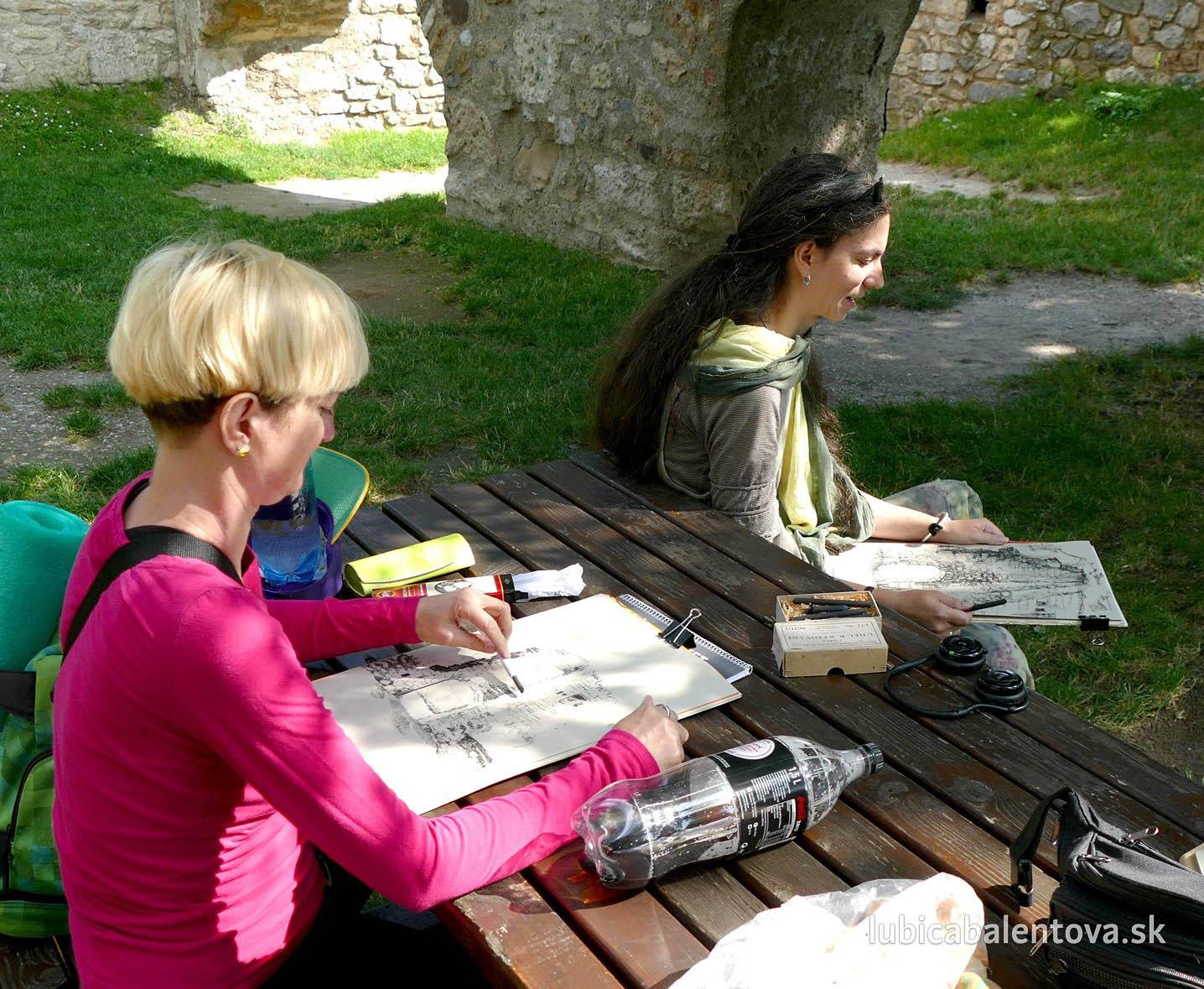 Maľovanie v Hainburgu – na hrade