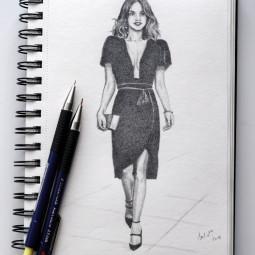 Kresba ceruzkou – postava