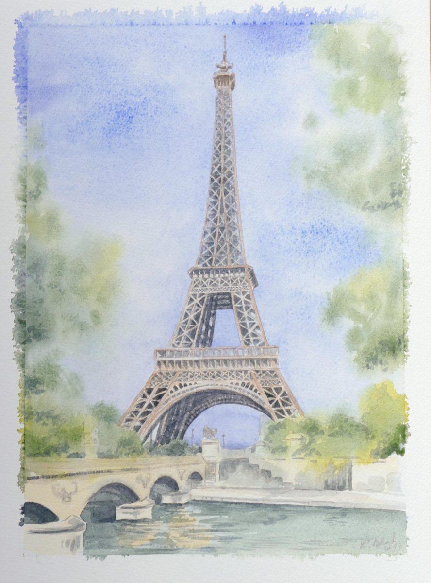 Maľba akvarelovými farbami