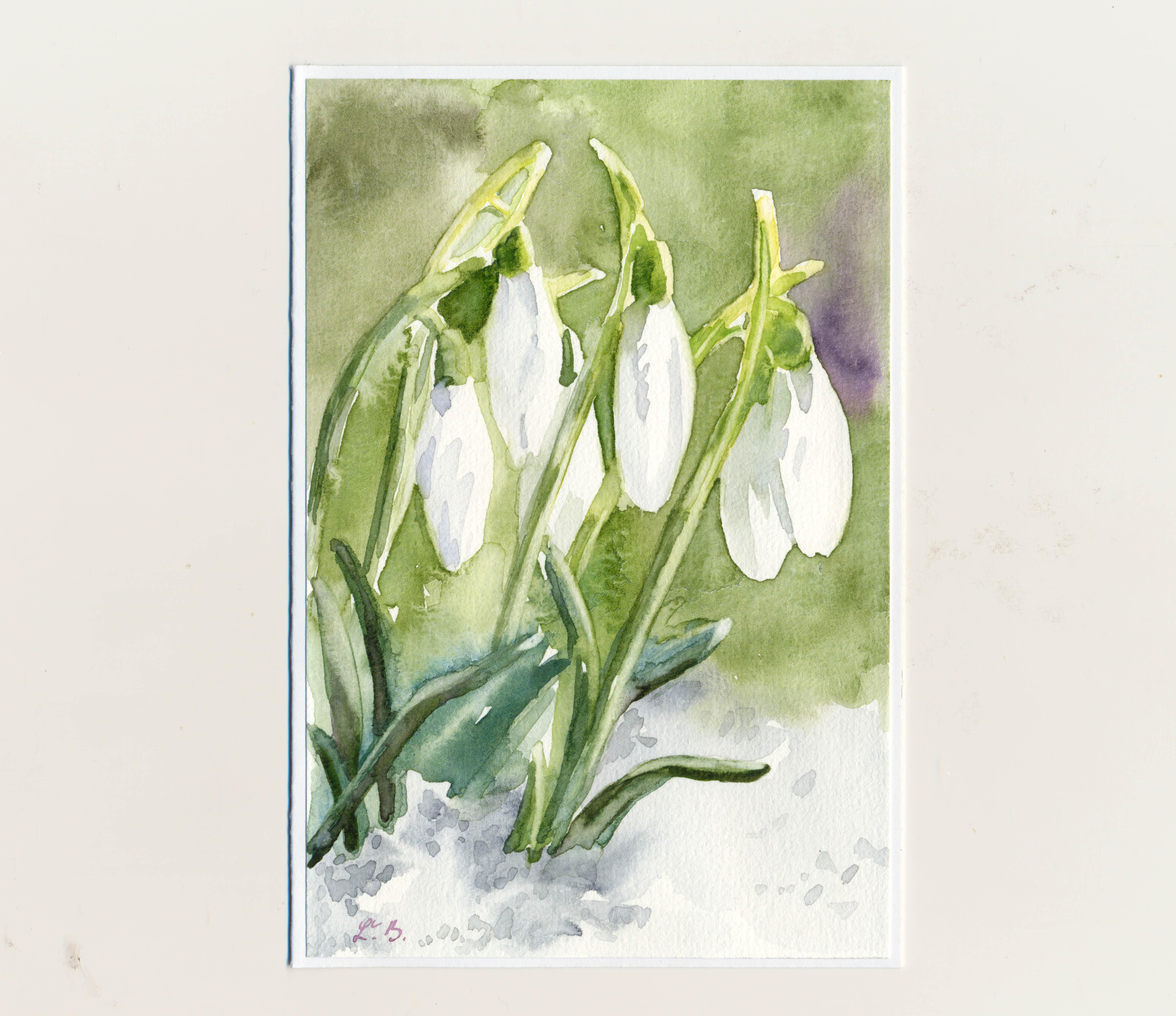 Maľované pohľadnice