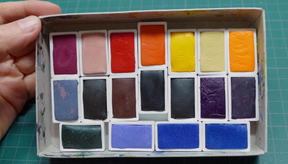 Akvarelové farby Umton