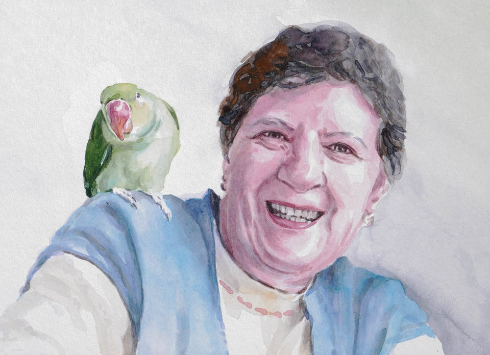 Portrét podľa fotografie