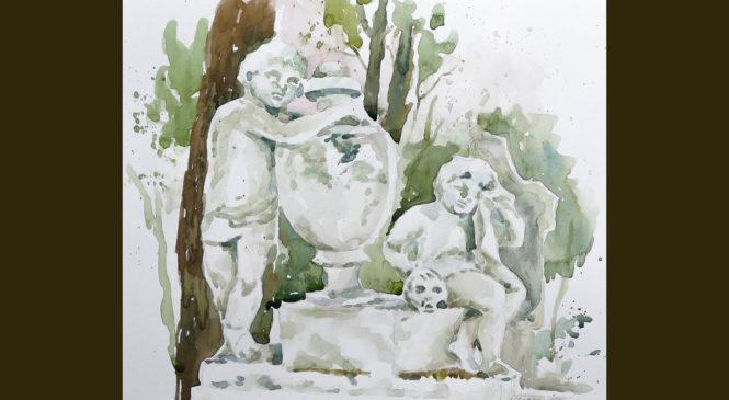 Maľovanie podľa sochy